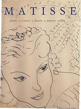 Matisse editions du Cercle d'art Raoul-Jean Moulin 1990