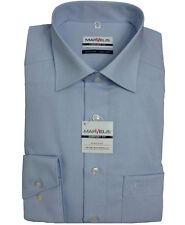 Marvelis Hemd  Comfort Fit uni blau Art. 7959.64.11 100% Baumwolle