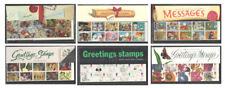 Greetings Booklet Presentation Packs. Sold separately & as complete set.
