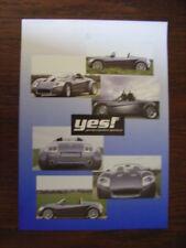 YES! Roadster Prospekt / Brochure, D, ca. 2000