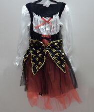 Kid Girl Children Pirate Captain Hook Caribbean Party Halloween Costume Bandana