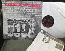 code of honor sick pleasure lp fight or die dolls under control '82 sub27 rare!!