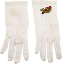 Order of Cyrenes Cross & Crown Emblem Ritual Gloves