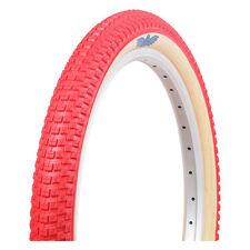 20x2.0 se racing snakebelly style old school bmx blue red black araya ukai tire