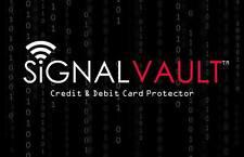 Signal Valult RFID Blocking Credit & Debit Card Protector - ID theft blocker