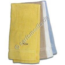 """Handtuch """"FISCH"""" - ICHTHYS - 50x100 cm - 100% BW-Frottee - Tolles Geschenk *NEU*"""