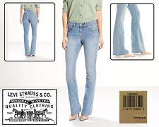 LEVIS $128 NEW Light Wash Slouchy Fit Wide Leg Cotton Jeans QCO