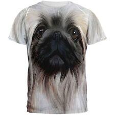 Pekingese Face All Over Adult T-Shirt