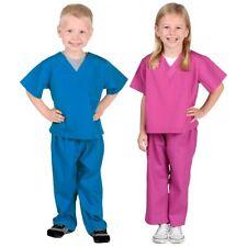 Jr Doctor Scrubs Costume Halloween Fancy Dress