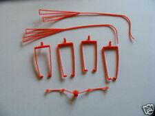 Timpo Quadriga Zügelsatz, rot