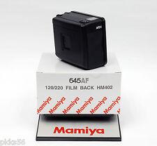 Mamiya 645 AFD III / AFD II / AFD / AF 120/220 FILM BACK HM402 [2 frames/second]