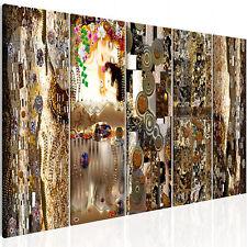 Wandbild xxl Gustav Klimt Mutter und Kind Leinwand Bild Wohnzimmer l-C-0007-b-m