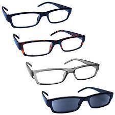 UV Reader Gafas de Lectura con lector de Sol Negro 4 Paquete de 32-1271 para hombre para mujer rrrs