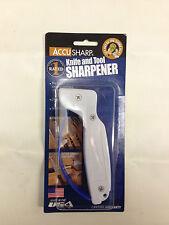ACCUSHARP KNIFE AND TOOL SHARPENER DIAMOND-HONED TUNGSTEN CARBIDE PULL THROUGH