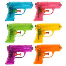 3   6   12 x Wasserpistole Neon Wasser Kunststoff 11 cm Mitgebsel