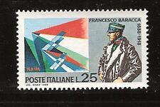 ITALY # 983 MNH BARACCA WORLD WAR I AVIATOR