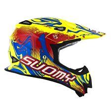 Casco Helm Casque Helmet SUOMY Off-Road MR JUMP Graffiti Yellow 2018 KSMJ0036