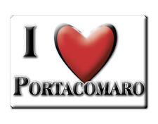 CALAMITA PIEMONTE FRIDGE MAGNET MAGNETE SOUVENIR LOVE PORTACOMARO (AT)