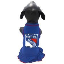 New York Rangers NHL Pet Dog Premium CHEERLEADER DRESS (8 sizes)
