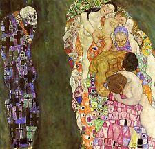 Gustav Klimt Reproductions: Death and Life - Fine Art Print