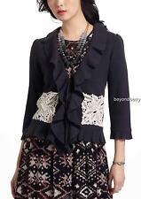 NEW Anthropologie Leifsdottir Lace Attache Cardigan  Size XS & M