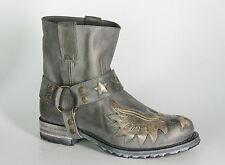 9942 Sendra Boots Chiquita Vibrant Grigio Bikerboots Grau