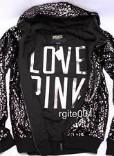 Victoria's Secret Love PINK Fashion Show Exclusive Leopard Zip Hoodie Coat
