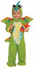 Boys Green Dinosaur Costume Infant Childs Baby Halloween 6-12 & 12-18M Kids NEW