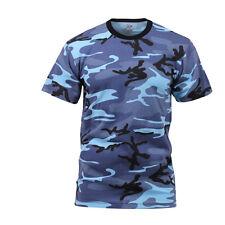 Sky Blue Camo T-Shirt NY Giants Dodgers Cubs Mets Michigan UNC Duke UCLA Penn St