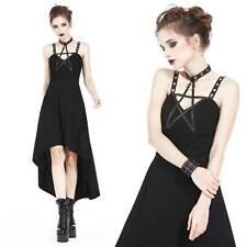DARK IN LOVE Gothic Kleid Pentagramme Dress Hexenkleid Wicca Dress Witch Gown