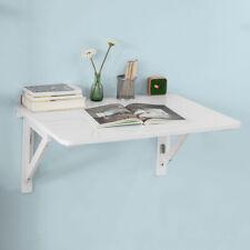 SoBuy Wall-mounted Drop-leaf Table, Folding Wood Table Desk, 75x60cm, FWT05, UK