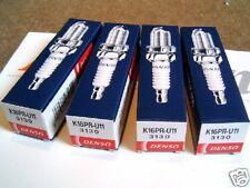 Denso Spark plug set, Nissan Almera Micra Primera Tino, K16PR-U11, 4 x plugs
