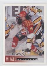 1995-96 Upper Deck Swedish 30 Mikael Wahlberg Brynas IF Tigers (SHL) Hockey Card