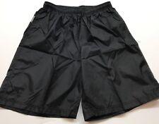Nike Boys Hybrid, Black & Gray Running Short (Youth X-Large)