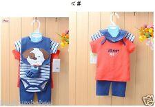 BABY BOYS Cotton 6 Pieces Romper set - size 6,9,12 month