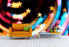 3D Rainbow Stars 754 Wall Paper Murals Wall Print Wall Wallpaper Mural AU Kyra