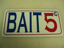 "BAIT Metal Sign ""Vintage Style"" Rapala Fishing Boat rod"