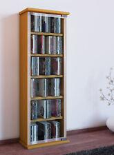 VCM Regal DVD CD Rack Medienregal Medienschrank Aufbewahrung Holzregal