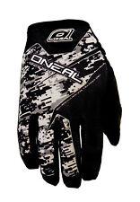 O'Neal Mens Black/Grey Jump Digi Camo Dirt Bike Gloves MX ATV 2016