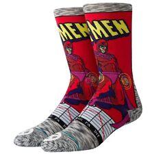 Stance NEW Unisex Magneto Comic Socks - Grey BNWT