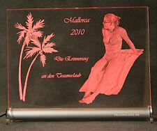 Fotogravur individuell von Ihrem Foto auf LED Schild Geschenk Abschiedsfeier