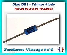 *** LOT AU CHOIX DE 2/5 OU 10 DIAC / TRIGGER DIODE DB3 / DO35 - ST ***