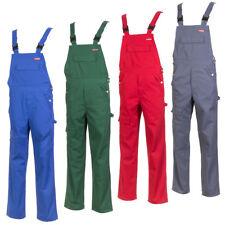 Salopette de Travail Mélanger Tissu Vêtements Serrurier Pantalon Jardinage