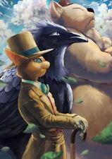 159456 The Cat Returns Hayao Miyazaki Fantasy Anime Wall Print Poster CA
