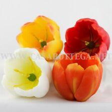 """Candela fiore """"Tulipano"""" in 4 colori"""