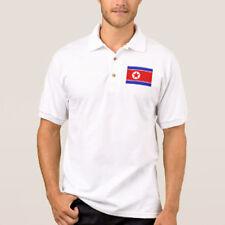 Korea Flag Mens Embroidered Polo Shirt S-6XL, LT-4XLT New