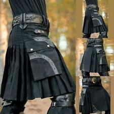 Men's 5 Yard Scottish Kilts Tartan Kilt 13 oz Highland Casual Kilt without Belt