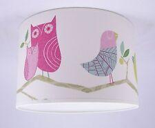Lampshade Handmade in UK - Harlequin 'What A Hoot' Wallpaper