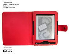 Bolso para trekstor 4 Ink 4ink 4.0 mundo imagen liro Ink liro Pyrus e-book * case rojo