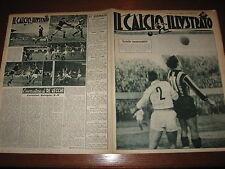 IL CALCIO ILLUSTRATO 1949/52 INTER COMO JUVENTUS BOLOGNA ROMA BARI MILAN PADOVA